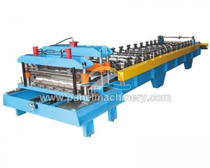 China Glaze tile roll forming machine on sale
