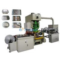 Foil food tray making machine