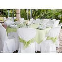 wedding and banquet organza table cloth