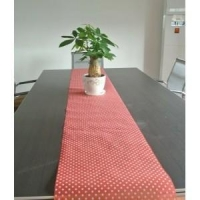 polyester nonwoven table cloth overlay runner