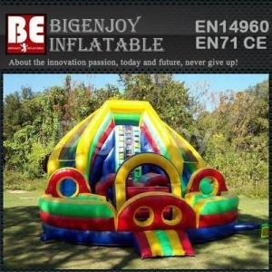 China Colorful Rainbow toddler slide on sale