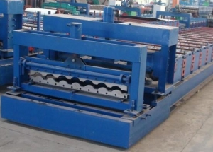 China Glaze Roof Tile Steel Roll Forming Machine on sale