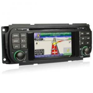 China Car DVD Player GPS Navigation System for Jeep Grand Cherokee Wrangler Liberty Chrysler Voyager on sale