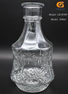 China Glass liquor bottles Glass liquor bottles on sale