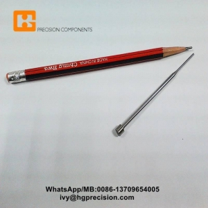 China Non-stanard Precision Components Tungsten Carbide Precision Punch Pins on sale