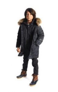 China Appaman 'Midnight Camo Pratt Down Parka Winter Boys Coat *Top Seller* on sale