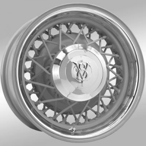 China Tires 18x6 Hot Rod Wire wheel | 5x5 bolt | Primed | Discontinued on sale