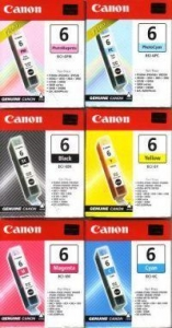 China BUBBLE JET CARTRIDGE: CANON BCI-6PC (PHOTO INK/CYAN) on sale