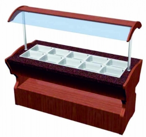 China Cold Salad Bar Counter Manufacturer, Supplier & Exporter in Delhi, India on sale