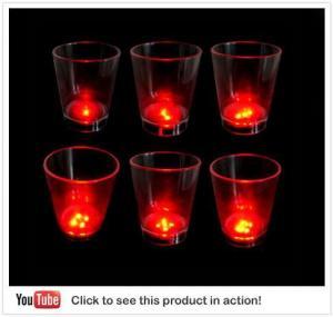 China Light Up Dice Shot Glass on sale