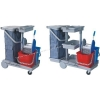 China Cleaning Tools Housekeeping Trolley for sale