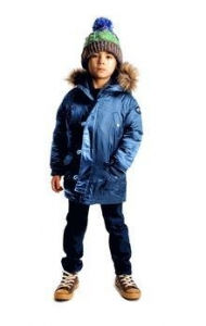 China Appaman Seaport Blue Morningside Anorak Hooded Boys Coat 14 on sale