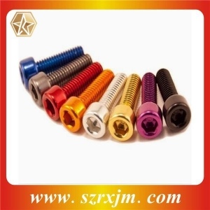China Titanium Series Titanium Colored Allen Bolt on sale