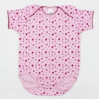 Cotton Interlock Baby Girl Romper