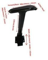China Ergo arms Adjustable Arm Rest with 4D Multi-function Arm Pad (All black) H634AL2 (BK) + PU-1834-4 on sale