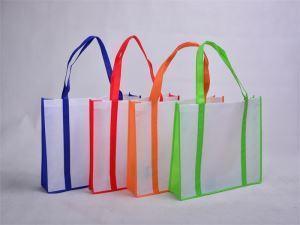 China Blank No Logo Custom Eco Reusable Bag Eco Bag Non Woven on sale