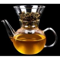China glass coffee/tea pot &dripping pot 600ml on sale