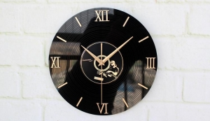 China Wall Clock 3D clock stereo Vinyl CD Releases on sale