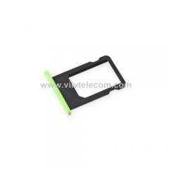 China Nano SIM Card Tray for iPhone 5c - Green on sale