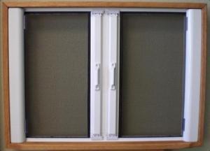 China Retractable Screen Doors - Double French Door on sale