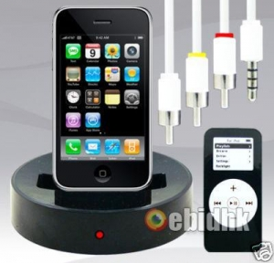 China iphone dock station on sale