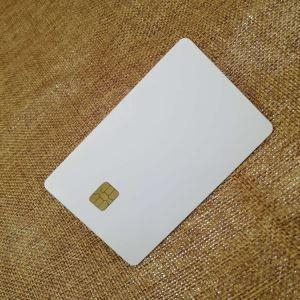 China Contact Chip IC Blank Cards on sale