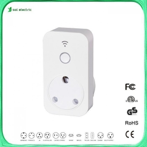 China South Africa smart plug in timer socket HSA01W on sale