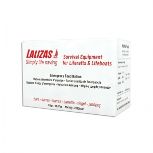 China LALIZAS Emergency liferaft food ration 0,5 kg on sale