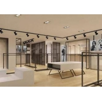 Elegant Design Men Retail Apparel Fixtures With Dis - Assembly Structures