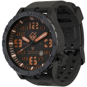 China Clearance & Specials HeavyWater Black PVD Finish. Black Dial, Orange Graphics, YGGG on sale