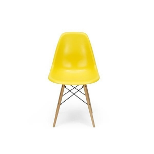 China Replica Charles Eames DSW Dining Chair with Wooden Legs on sale
