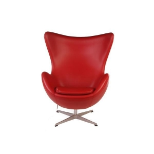 China Contemporary Oversized Leather Lounge Chair on sale