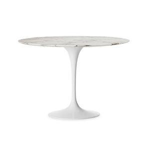 China Replica Knoll Furniture Eero Saarinen Round Tulip Dining Table on sale