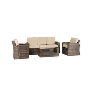 China All Weather Outdoor Garden Patio Furniture Waterproof Rattan 3 Seater Sectional Sofa Clearance on sale