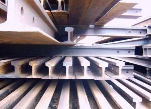 China Steel Rail Scrap on sale