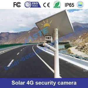 China Solar 3g/4g Home Security Camera Systems With 2-Way Talking on sale