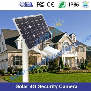 China Solar Power 3g/4g Lte 960H Night Vision Security Camera on sale
