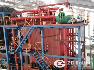 China 80 ton biomass fired power plant boiler on sale