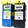 China Ink Cartridge Reman DELL MK990 MK991 Ink Cartridge Refurbished for sale