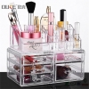China High Quality Acrylic Makeup Box Makeup Holder with Dividers for sale