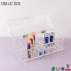 China Best Selling Clear Acrylic Makeup Box Makeup Brush Holder for sale