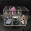 China Large Clear Acrylic Makeup Organizer-Acrylic Makeup Drawer Organizer for sale