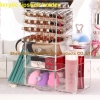 China 40 Holes Rotating Acrylic Makeup Organzier Lipstick Holder for sale