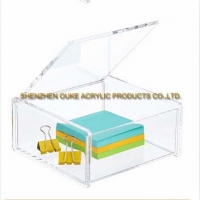 China Custom Made Plexiglass Boxes Wholesale Small Acrylic Boxes Lucite Containers on sale