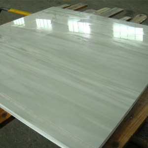 China Wooden Vein Nano Crystallized Glass Panel For Interior Flooring Tiles on sale