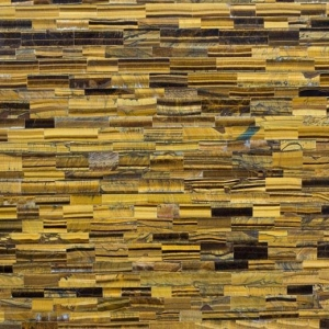 China Tiger Eye Semi-precious Stone Type Luxury Stone Materials Price Cost on sale
