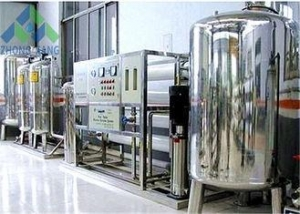 China RO Brackish Water Desalination Plant , Domestic / Industrial Water Treatment Systems on sale