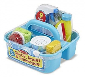 China Melissa & Doug Spray, Squirt & Squeegee Play Set - Pretend Play Cleaning Set on sale