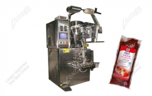 China Automatic Fruit Jam Pouch Packing Machine Manufacturer on sale