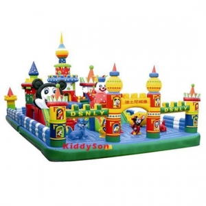China Newest mickey mouse inflatable bounce house on sale